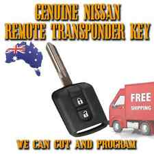 NISSAN Genuine 2 Button Remote Key - Navara Dualis Pathfinder - 434mhz FREE POST