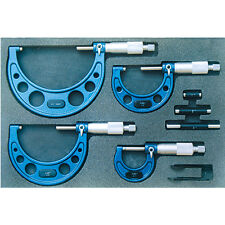 6 PIECE C-TYPE MICROMETER SET (0-6 INCH) (.0001 INCH) (4200-0166)