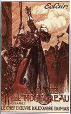 """""""LA DAME DE MONSOREAU (Emile CHAUTARD 1913)"""" Diapositive de presse originale"""