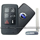 Remote Smart Prox Key For Volvo Keyless Fob 6 Button Uncut Blade Used Conditi