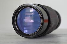 Canon FD 70-210mm f/4 FD Mount Telephoto Lens Macro Manual Zoom
