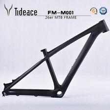 26er 14'' Carbon Mountain Bike Frame 3K Matt Full Carbon MTB Frame BB92