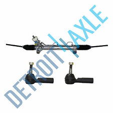 Complete Rack and Pinion Assembly +2 New Outer Tie Rods for Buick Pontiac