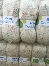 Robin Double kniting yarn  500 grams 5x100 balls beautiful wool Dolly Mix