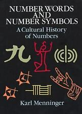 Number Words and Number Symbols: A Cultural History of Numbers-ExLibrary