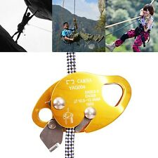 Rock Tree Climbing Rope Grab Outdoor Security Mountaineering Carving Rescue Gear