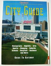 Cleveland Magazine City Guide 1994 Cleveland Indians JACOBS FIELD Inaugural MINT