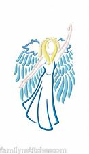 Beautiful Outline Angels 10 Machine Embroidery Designs on CD in 4 sizes