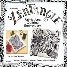Zentangle Fabric Arts: Fabric Arts, Quilting, and Embroidery, Very Good Books