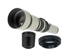 Bower 650-2600mm Telephoto Lens for Canon EOS T6i T6s T5i T4i T3i SL1 70D 60D 7D