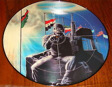 "IRON MAIDEN 2 Minutes to Midnight 12"" PICTURE DISC IMPORT UK EMI"