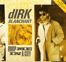 "DIRK BLANCHART drop me in a city TAK 1812 uk statik 1984 12"" PS EX/EX"