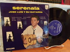"Jose Luis y su guitarra Serenata Rare Latin Holland Philips 10"" vinyl LP Listen"