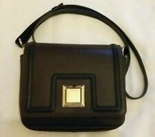 EMANUEL UNGARO Women's Cross Body Leather Bag Brown / Black