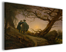 Quadro moderno Caspar David Friedrich vol XIV stampa su tela canvas famosi
