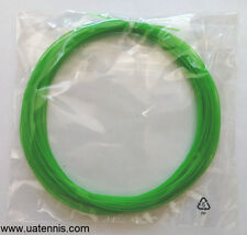 5 Sets of Green 17 gauge TENNIS RACQUET STRINGS, SYNTHETIC GUT string, syn