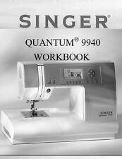 Singer 9940-WKBK Sewing Machine/Embroidery/Serger WORKBOOK