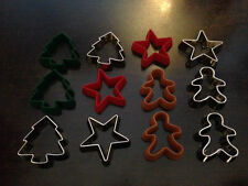 """Dress it Up """"Cookie Cutters"""" Buttons Christmas"""