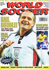 PAUL GASCOIGNE / GLENN HODDLE / MILAN / DENILSON World Soccer Dec 1997