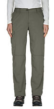 CRAGHOPPERS Womens Litchen Green NosiLife Lightweight Trousers 14 Regular BNWT