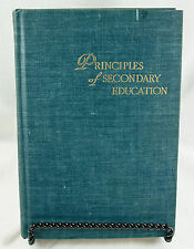 Principles Of Secondary Education 1949 Nelson Bossing Hardcover