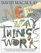 The New Way Things Work David Macaulay Hardcover
