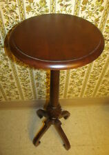 Ethan Allen Georgian Court Ivy Plant Stand 11 3001 Solid Cherry Wood 42 Tall