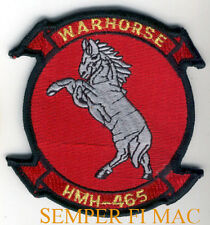 HMH-465 WAR HORSE PATCH US MARINES PIN UP MCAS MAW HELICOPTER STALLION HORSE WOW