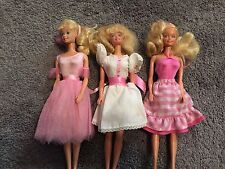 VINTAGE RARE LOT OF 3  MY  FIRST BARBIE  DOLL 1982 1984 1986 MATTEL