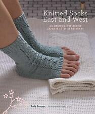 Knitted Socks East and West: 30 Designs Inspired by Japanese Stitch Patterns by