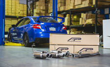 AGENCY POWER CATBACK EXHAUST+QUAD SS TIPS FOR 11-14/15-17 SUBARU WRX STI SEDAN