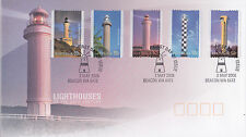 2006 Light Houses of The 20th Century (P&S Stamps) FDC - Beacon WA 6472 PMK