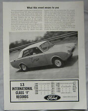 1964 Ford Consul Corsair GT Original advert