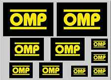 OMP Sticker Set-hoja de 10 Pegatinas-Calcomanías