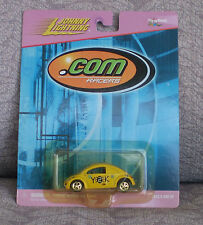 JOHNNY LIGHTNING 2000 .Com Racers - Yellow Y2K VW Concept 1 - Volkswagen BUG