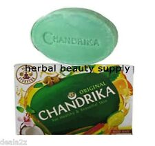 BUY 4 GET 1 FREE115g Chandrika soap coconut lime sandalwood orange ginger extraT
