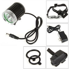 SecurityIng 3 x CREE XM-L T6 LED 3800Lm LED Outdoor Headlamp and Bicycle Light