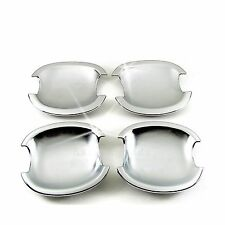Accessories Chrome Door Handle Base Bowl Covers For 2003-2013 Toyota Corolla