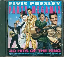 Elvis Presley - Party Megamix 40 Hits Of The King Cd Ottimo