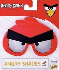 Angry Birds Red Sunglasses Glasses Glass Protect Eyes Party Fun Sun Staches