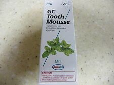 GC Tooth Mousse single tube40g (Mint) Exp.in 12 months or longer-Free Shipping