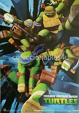 POSTER  11x16 tmnt teenage mutant ninja turtles nickelodeon