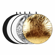 "43"" 5-in-1 Light Mulit Collapsible disc photography Reflector 110cm"
