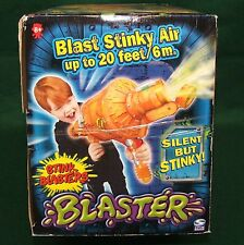 Rare Stink Blaster Air Cannon Gun 2004 Meg Toys Spin Master Steampunk New In Box