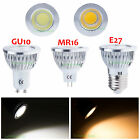 Ultra Bright MR16 GU10 E27 Dimmable COB LED Spot Light Globe Bulb Lamp 6W 9W 12W