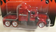 "2014 Hot Wheels Nostalgia LONG GONE ""Hot Tamales"" red & black  semi truck"