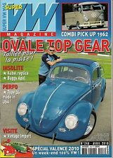 SUPER VW MAGAZINE N°248 OVALE TOP GEAR/COMBI PICK UP 1952 AVRIL 2010