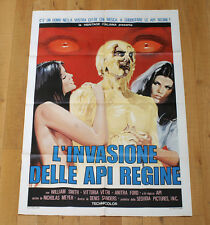 L'INVASIONE DELLE API REGINE manifesto poster affiche Invasion of the Bee Girls