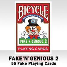 Bicycle FAKE' N' GENIOUS 2 Playing Cards.