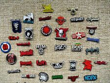 RED HOT CHILI- OFFSPRING-SYSTEM DOWN-RAMMSTEIN-RAMONES-SLAYER-CHOOSE YOUR PIN!!
